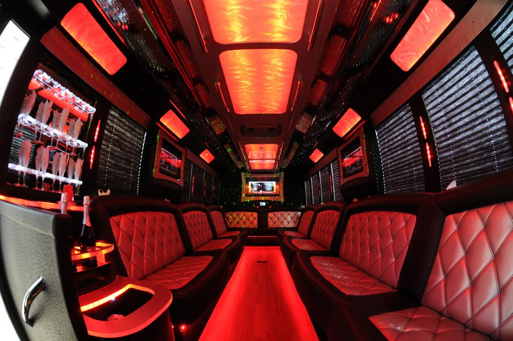 Cleveland limo bus